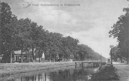 Ansichtkaart Hoogersmilde De Pieter Hummellenbrug Drenthe HC2