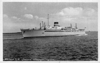 Ansichtkaart Mailboot S.M. Zeeland Vlissingen - Harwich Scheepvaart HC36