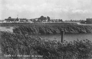 Ansichtkaart Capelle aan den IJssel Gezicht op de IJssel 1941 HC38