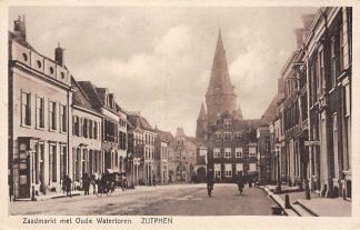 Ansichtkaart Zutphen Zaadmarkt met Oude Watertoren HC39