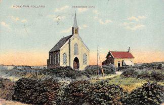 Ansichtkaart Hoek van Holland Hervormde Kerk 1912. HC1000