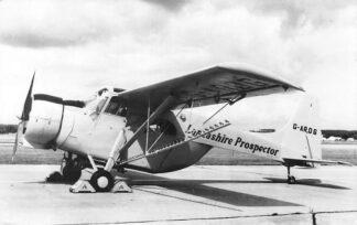 Ansichtkaart Vliegtuigen Lacashire Prospector mk2 1962 HC1003