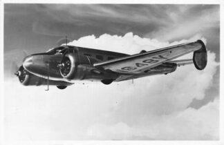Ansichtkaart Vliegtuigen Beechcraft D-18 S 1955 HC1004