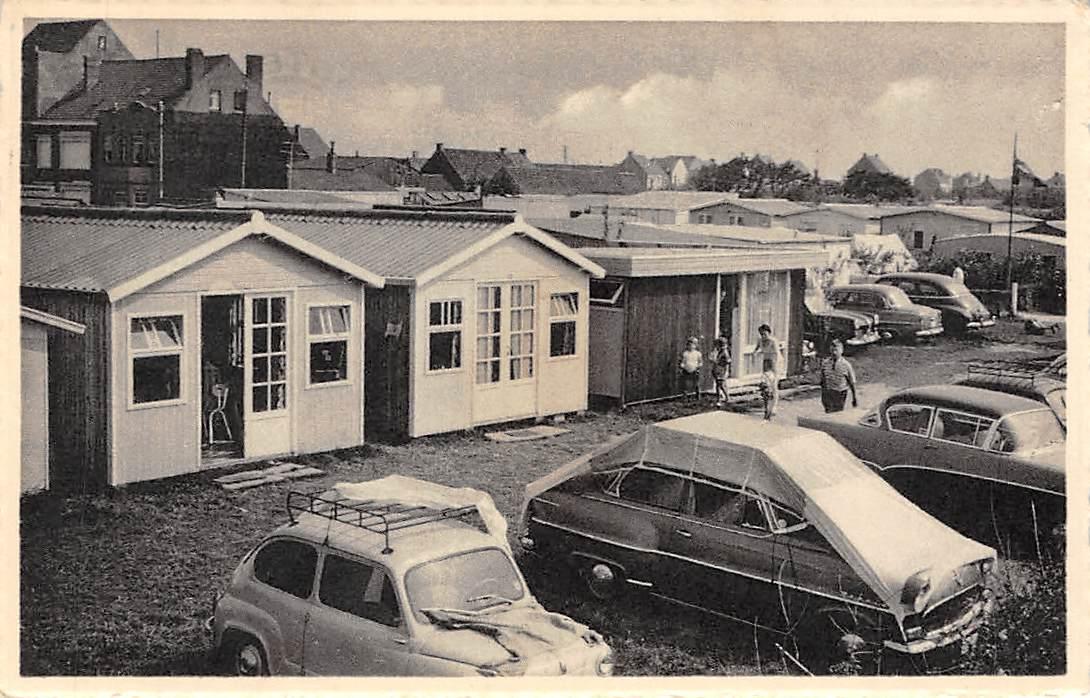 Bredene Aan Zee Camping 17 De Coster België Auto Hc1016 House Of