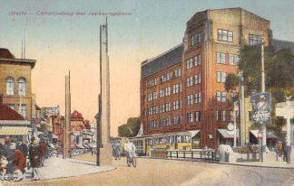 Ansichtkaart Utrecht Tram Catharijnebrug met Jaarbeursgebouw 1931 HC1017