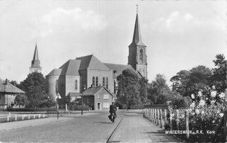 Ansichtkaart Winterswijk R.K. kerk 1960 HC1024
