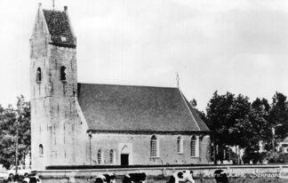 Ansichtkaart Schraard Ned. Hervormde Kerk HC1026