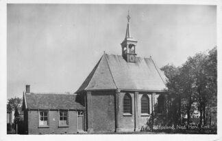 Ansichtkaart Sint Philipsland Ned. Hervormde Kerk 1949 HC1027