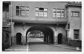 Ansichtkaart Roermond Graaf Gerard Straat 1929 HC1028