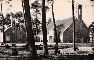 Ansichtkaart Den Dolder Maria Christina - Kerk Zeist HC1030