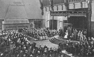 Ansichtkaart 's-Gravenhage Opening Staten-Generaal Den Haag HC1055