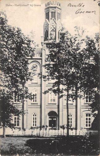 Ansichtkaart Grave Huize Mariendaal 1906 HC1069