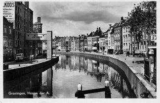 Ansichtkaart Groningen Hooge der A. Auto 1950 HC1078