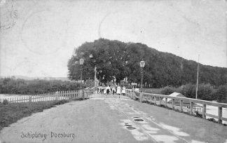 Ansichtkaart Doesburg Schipbrug 1908 Met tramspoor HC1085