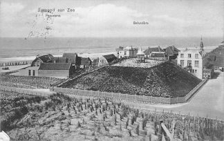 Ansichtkaart Egmond aan Zee Panorama Belvedère 1909 HC1094