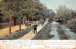 Ansichtkaart Rijswijk (GD) Tol bij de R.K. Kerk HC1095