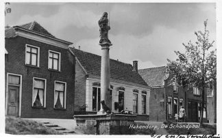 Ansichtkaart Hekendorp De Schandpaal Oudewater Haastrecht HC1110