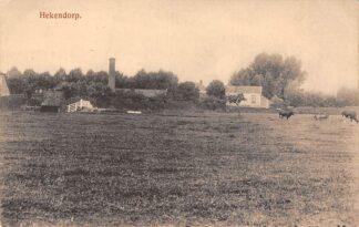 Ansichtkaart Hekendorp Gezicht op het dorp Oudewater Haastrecht HC1123