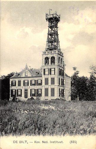 Ansichtkaart De Bilt 1909 Kon. Ned. Instituut KNMI Nauta 825 HC1129