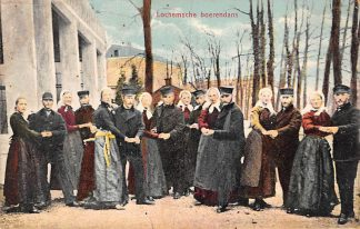 Ansichtkaart Lochem 1911 Lochemse Boerendans Klederdracht HC1139