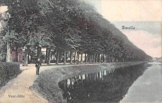 Ansichtkaart Zwolle Veer-Allee HC1146