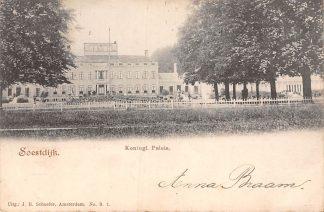 Ansichtkaart Soestdijk Koningl. Paleis 1901 Baarn HC1152