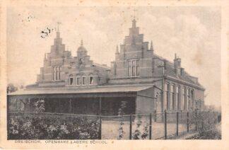 Ansichtkaart Dreischor Openbare Lagere School 1934 Bij Zierikzee Schouwen Duiveland HC117
