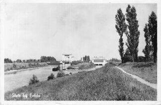 Ansichtkaart Eefde Sluis 1952 HC1176