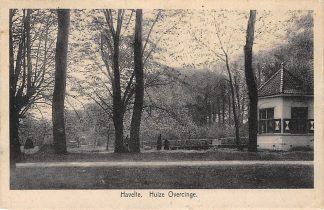 Ansichtkaart Havelte Huize Overcinge 1936 HC1204
