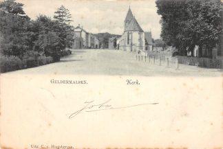 Ansichtkaart Geldermalsen Kerk Betuwe 1902 HC122