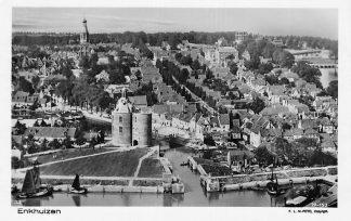 Ansichtkaart Enkhuizen Ancient lighthouse Drommedaris 1927 KLM Foto 33 27-153 HC1231