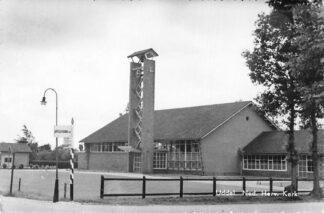 Ansichtkaart Uddel Ned. Hervormde Kerk HC1234