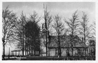 Ansichtkaart Spankeren Rheden N. Hervormde Kerk 1951 HC1235