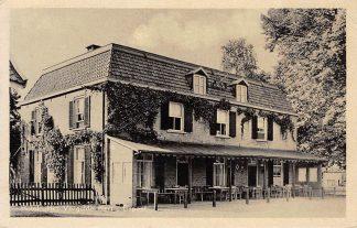 Ansichtkaart Elspeet 1942 Hotel Het Vergulde Hert HC1237