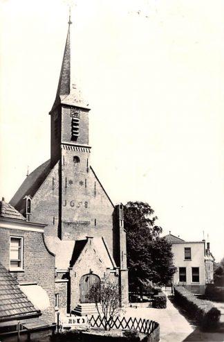 Ansichtkaart Gouderak 1958 Ned. Hervormde Kerk HC1242