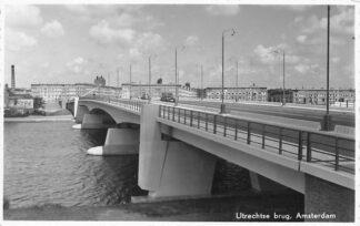 Ansichtkaart Amsterdam Utrechtse brug HC1245