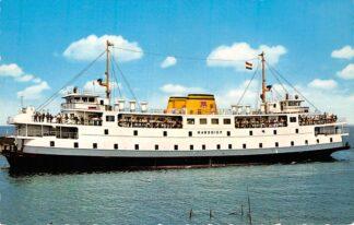 Ansichtkaart Den Helder Veerboot Marsdiep naar Texel Scheepvaart Schepen HC1258