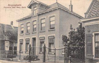Ansichtkaart Bergambacht Pastorie Ned. Hervormde Kerk 1923 HC1261