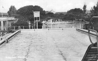 Ansichtkaart Bodegraven Zwembad 1951 HC1268