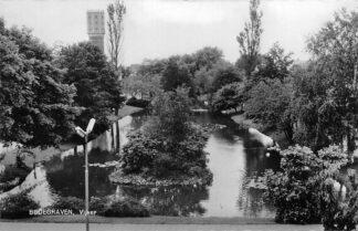 Ansichtkaart Bodegraven Vijver Watertoren 1964 HC1269