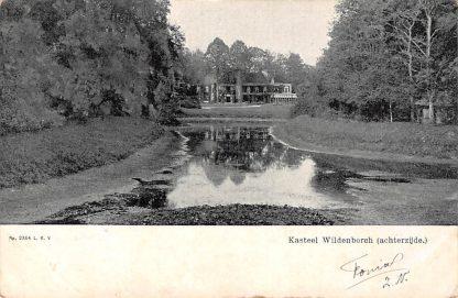 Ansichtkaart Vorden 1905 Kasteel Wildenborch (achterzijde) HC1272