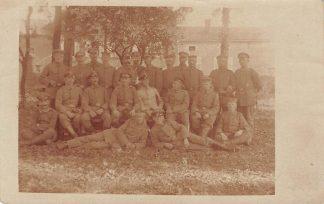 Ansichtkaart Militair Fotokaart Kompagnie Res. Inf. Reg. 216 Feldpost 1917 filatelie WO1 Duitsland HC1274