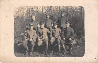 Ansichtkaart Militair Fotokaart uit verzameling Wilhelmsdorf Duitsland WO1 HC1277