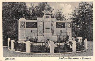 Ansichtkaart Groningen Scholten - Monument Stadspark 1945 HC1278