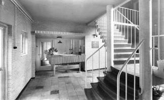 Ansichtkaart Chaam Jeugdherberg Het Putven Hall 1956 HC1291