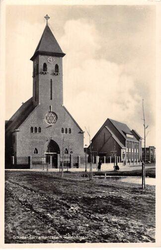 Ansichtkaart Gouda Sacramentskapel Tollensstraat HC130