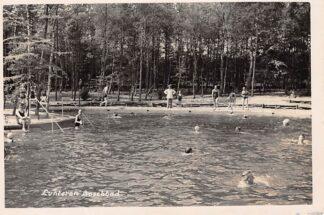 Ansichtkaart Lunteren Fotokaart Boschbad 1939 HC1304