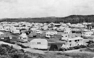 Ansichtkaart Zandvoort Caravankamp 1958 HC1307