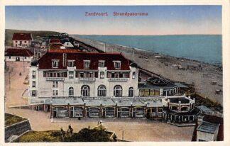 Ansichtkaart Zandvoort Strandpanorama 1922 Hotel Groot Badhuis HC1308