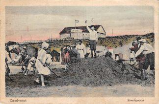 Ansichtkaart Zandvoort Strand gezicht 1923 HC1313